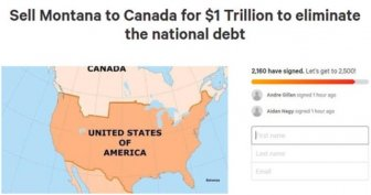 Americans Try To Sell Montana To Canada To Eliminate The National Debt
