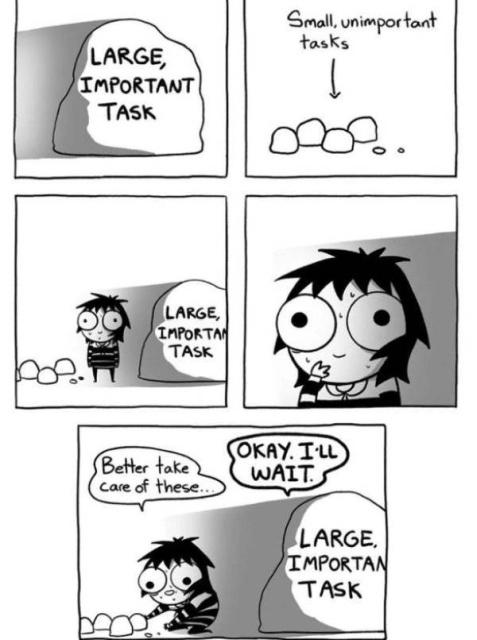 Procrastination Memes