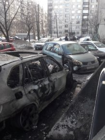 Parking Lot Revenge In Russia