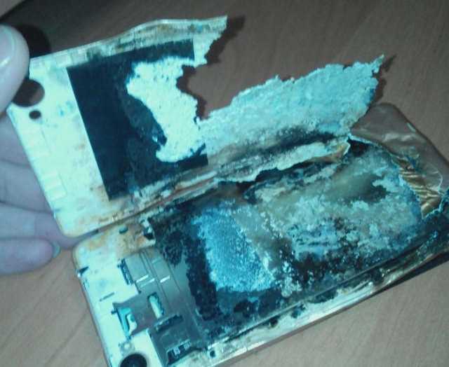 Another Phone Explosion