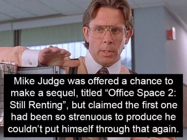 """Office Space"" Facts"