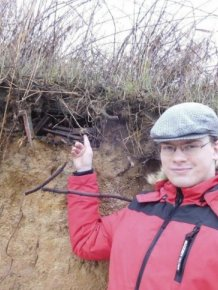 One Guy Has Found WWII Weapons On The Shore Of The Baltic Sea