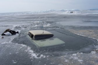 Russian Lake Baikal Is A Tough Place For Cars