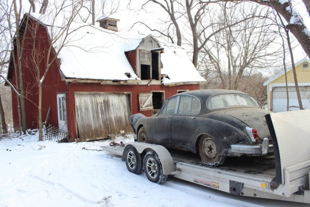 Man Buys A House, Finds A Unique Car In The Shed