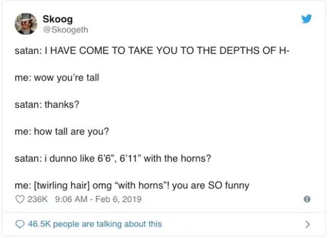 Funny Tweets, part 16