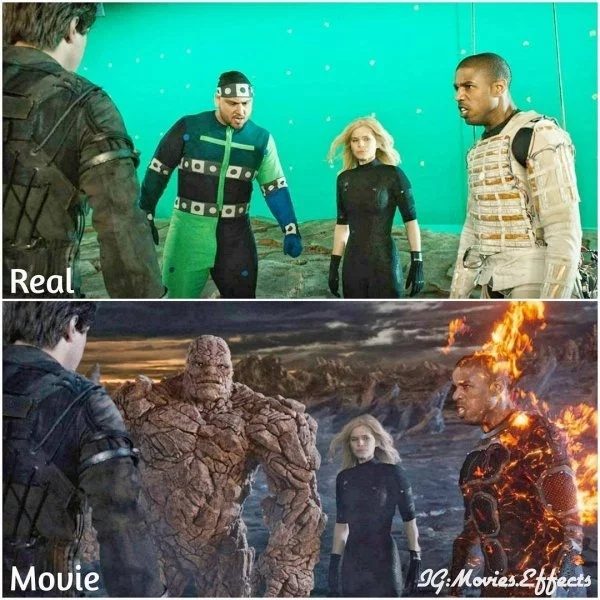 Before And After Visual Effects