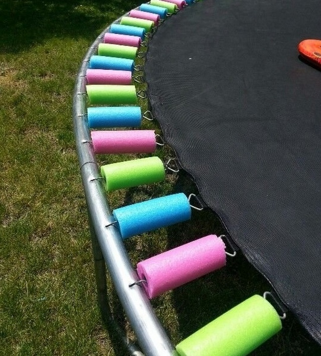 Pool Noodles Are Very Useful