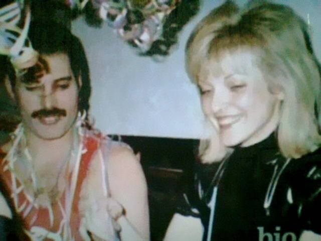 """Freddie Mercury With Mary Austin, The Woman He Described As """"The Love Of My Life"""""""