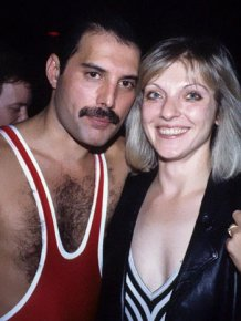 "Freddie Mercury With Mary Austin, The Woman He Described As ""The Love Of My Life"""