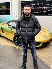 Gold Lamborghini Explodes