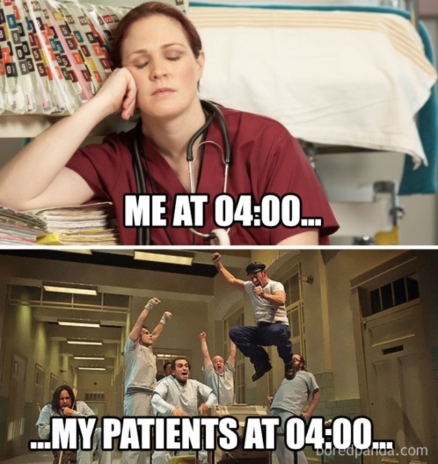 Funny Nursing Memes