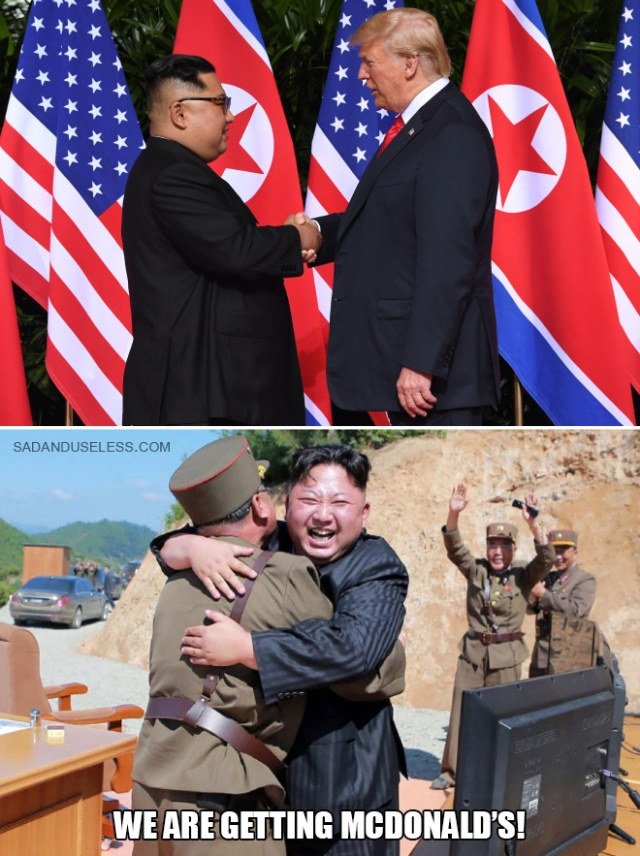 Internet Reacts To Trump's Meeting With Kim Jong-Un