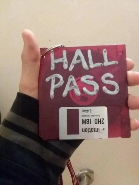 Very Unusual Hall Passes