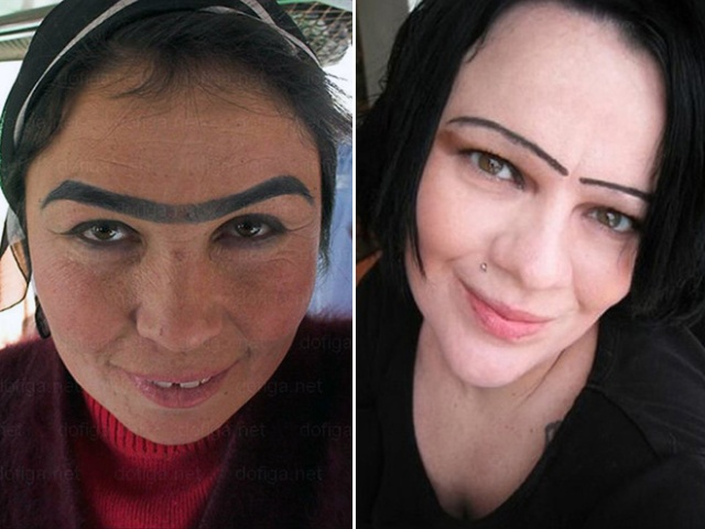 Women Who Don't Understand Eyebrows