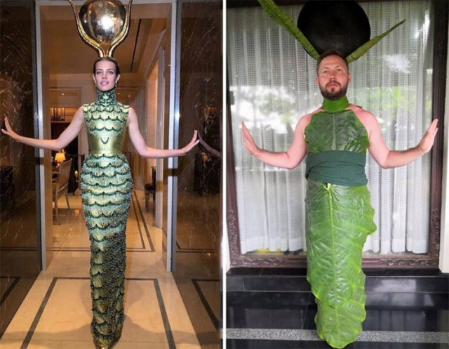 A Russian Blogger Shows Funny Celebrity Cosplays