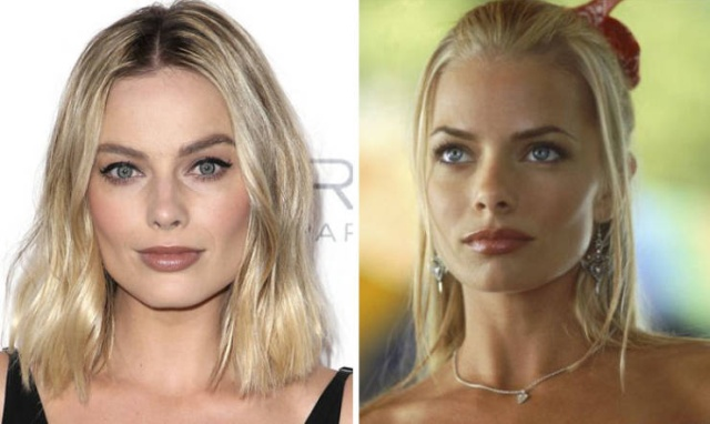 No One Can Tell Where's Margot Robbie And Where's Jaime Pressly