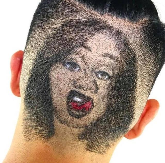 Strange Haircuts, part 2