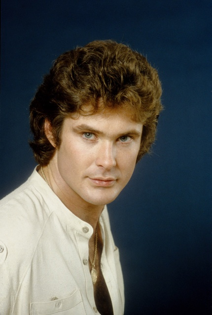 Cheesy Old Portraits of David Hasselhoff