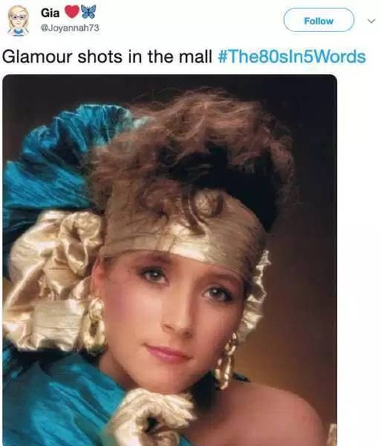 The 80's In 5 Words