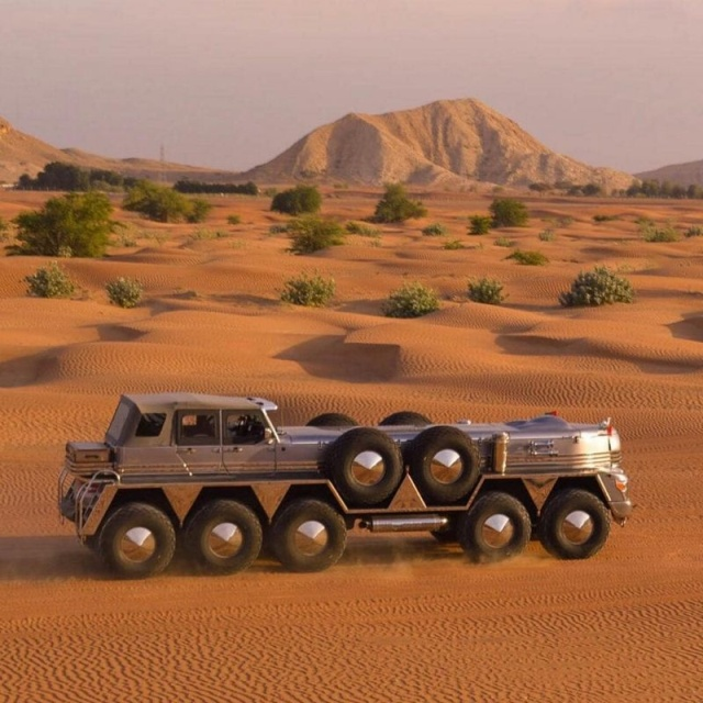 The Largest SUV In The World