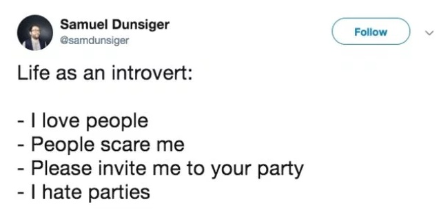 Tweets About Being An Introvert