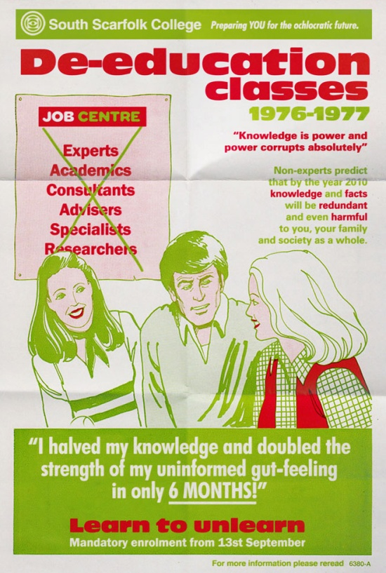 1970s-Era Posters From an Imaginary English Town