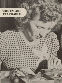 """Women Are Teachable"" Booklet From 1940s"