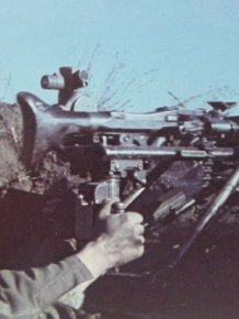 German Machine Gun Found From World War II