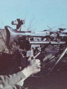 German Machine Gun Found From World War II
