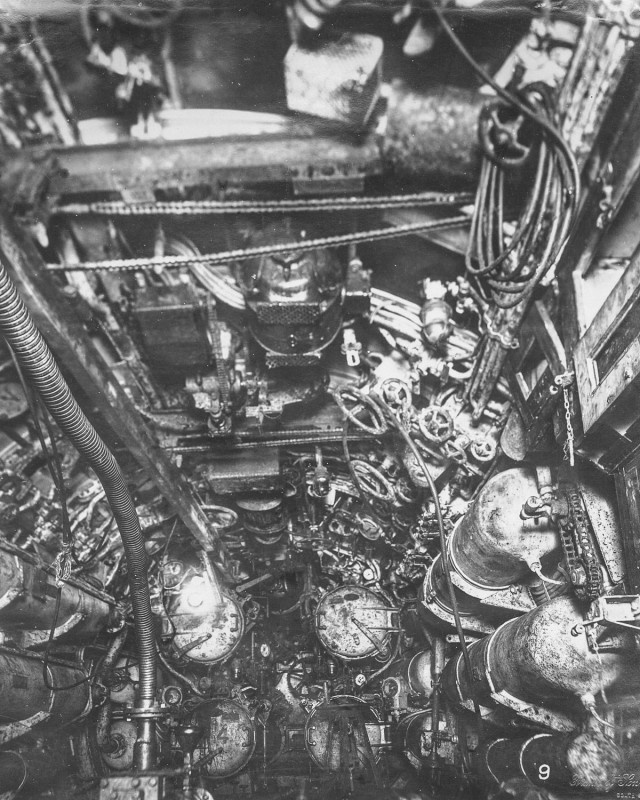 Inside An Old German Submarine