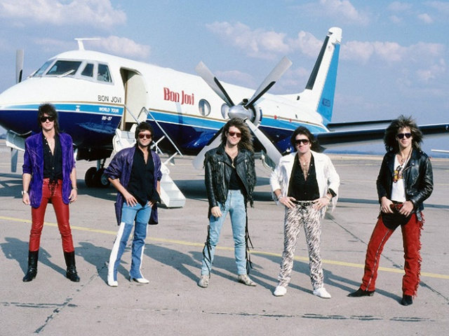 Bon Jovi Outfits In 1980s