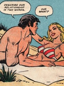 When Modern Love Meets Classic Comic Books