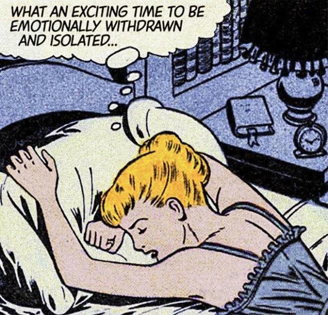 When Modern Love Meets Classic Comic Books