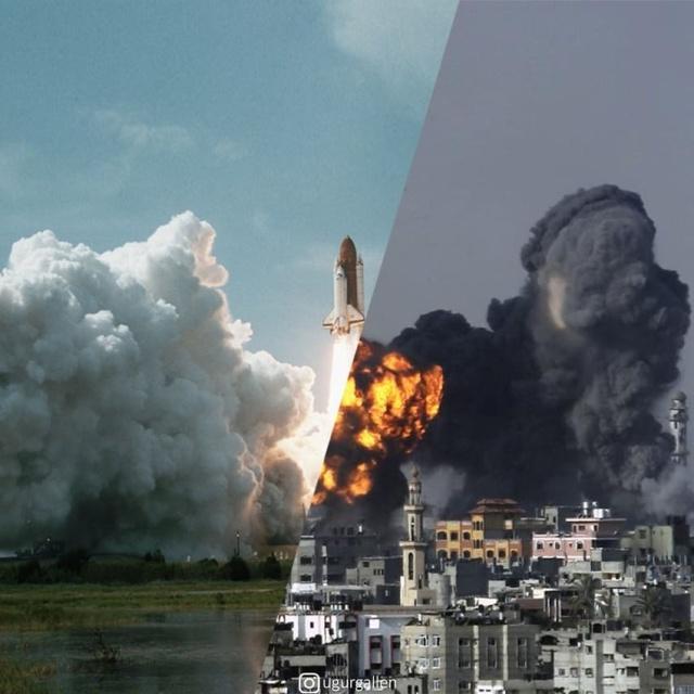 War Vs No War. Very Strong Images