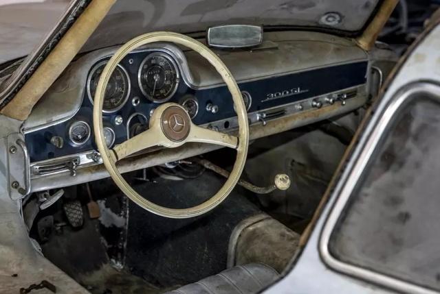 Mercedes-Benz Found In A Barn