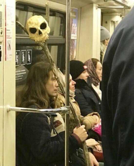 People In Subway