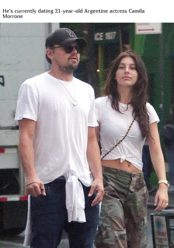 Leonardo DiCaprio Doesn't Date Women Older Than 25, part 25