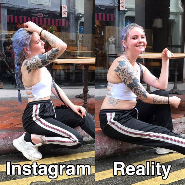 Instagram Vs Reality, part 3