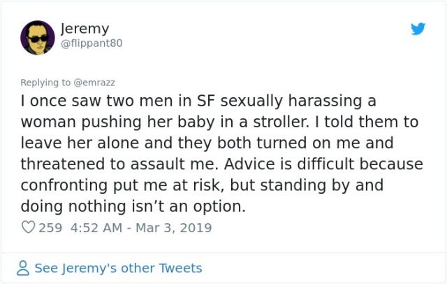 Men Share Times They Stopped Sexist Behavior