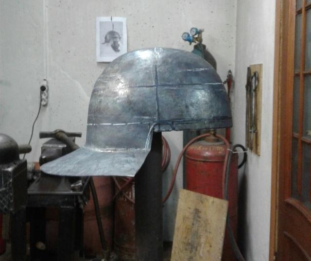 DIY Roman Helmet