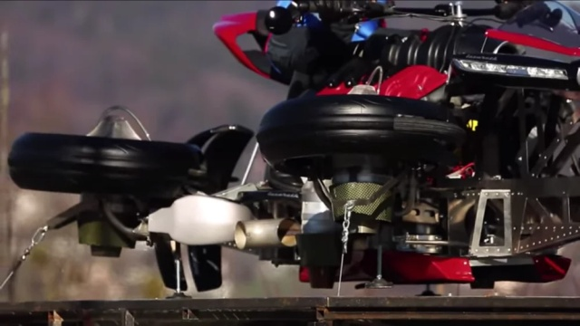Flying Motorcycle That Transforms Into Quadricopter In 60 Seconds