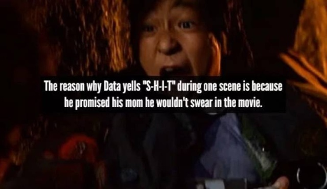 "Facts About ""The Goonies"""