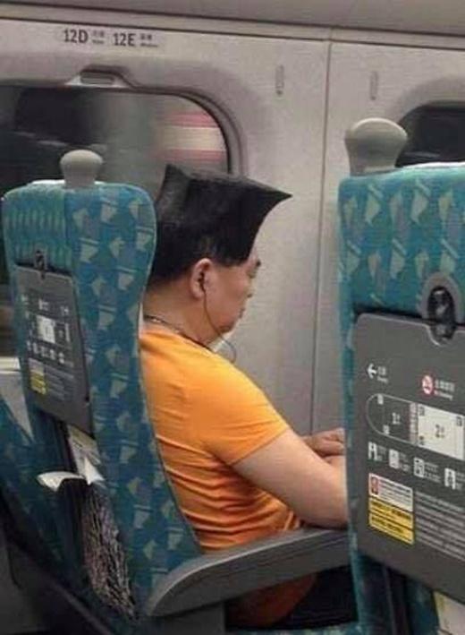 Average Joe Goes Viral Online Thanks to His Square Hairdo