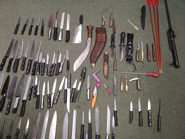 These Weapons Were Handed In To UK Police In Just Seven Days