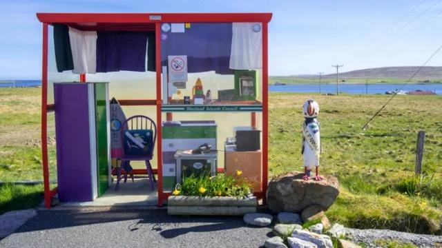 Very Unusual Bus Stops Around The World