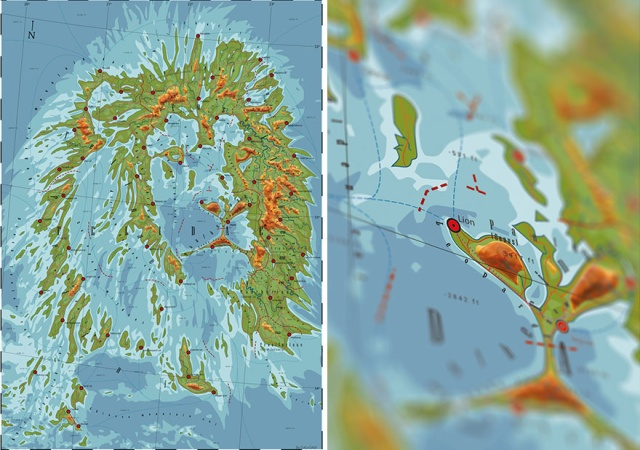 Fictional Maps That Honor Nature And Animals