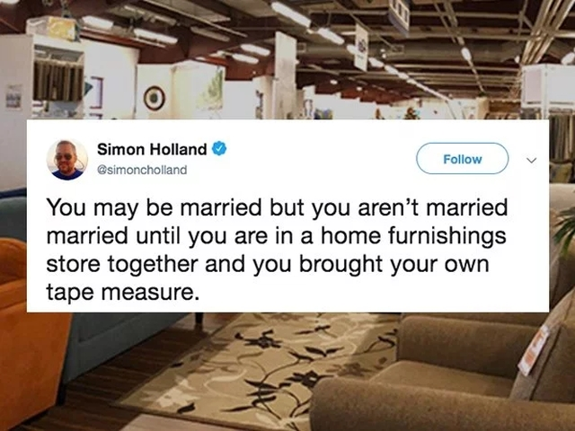 Your Marriage Perfectly Summed Up In Tweets