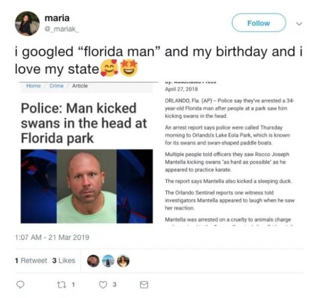 And Which Florida Man Is Your Spirit Animal?