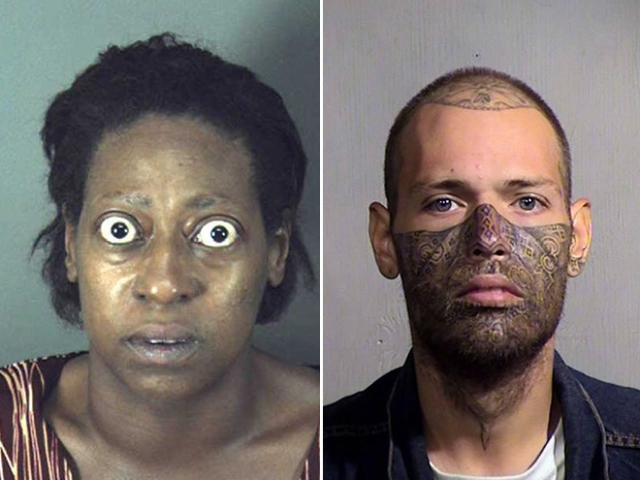 Weird Mugshots, part 3