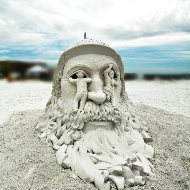 Awesome Sand Sculptures, part 2